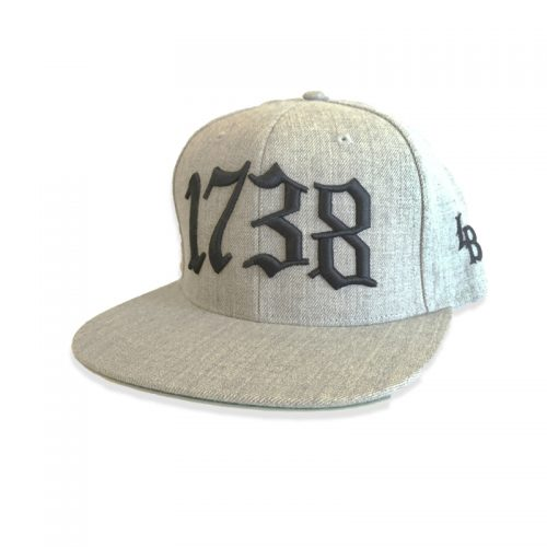 1738 HAT HEATHER GREY
